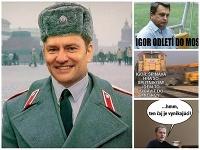 Matovič sa vybral nečakane do Moskvy, vyslúžil si za to aj množstvo vtipov.