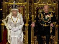 Kráľovná Alžbeta II. a princ Philip.