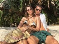 Majk Spirit s manželkou Mariou