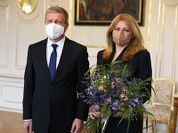Vladimír Lengvarský a Zuzana Čaputová