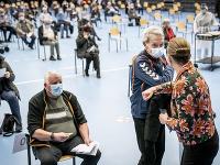 V Dánsku za deň zaočkovali vyše 100-tisíc ľudí