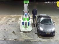 Vodič natankoval na čerpacej stanici v Prahe a ušiel bez zaplatenia.