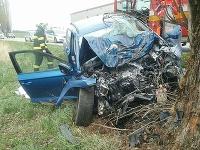 Pri dopravnej nehode zomrela jedna osoba