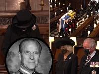 Posledná rozlúčka s princom Philipom začala o 15:00 miestneho času.