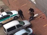 Brutálny zásah polície v Starej Turej