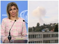 Marija Zacharovová o výbuchu vo Vrběticiach