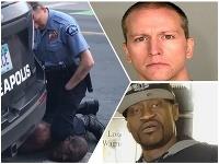 Derek Chauvin je vinný z vraždy Georgea Floyda.