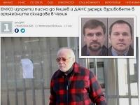 Podnikateľ Emiljan Gebrev a dvaja podozriví ruskí agenti Čepiga a Miškin
