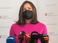 Ministerka kultúry Natália Milanová
