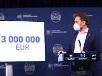 Heger a Matovič rozdelia milióny eur z rezervy.