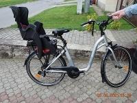 Podľa prvotných informácií mala ísť 58-ročná žena na bicykli a viesť na vôdzke psa.