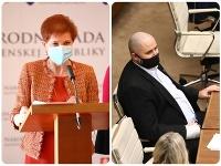Poslanci Jarmila Halgašová a Patrick Linhart majú medzi sebou konflikt.