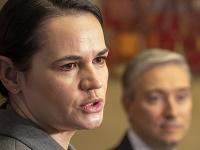 Bieloruská opozičná líderka Sviatlana Cichanovská