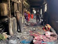 Tragický požiar v bagdadskej nemocnici pre pacientov s koronavírusom