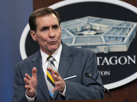 Hovorca amerického ministerstva obrany (Pentagónu) John Kirby