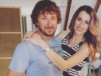 David Křížek s manželkou Luciou, za slobodna Váchovou