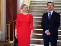 Prezidentka SR Zuzana Čaputová a dánsky korunný princ Frederik