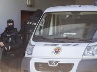 Bývalého špeciálneho prokurátora Dušana K. privážajú na Špecializovaný trestný súd