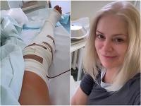 Zuzana Vačková musela v týchto dňoch podstúpiť operáciu kolena.