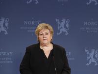 Nórska premiérka Erna Solbergová