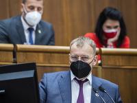 Boris Kollár počas rokovania v parlamente