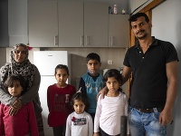 Abdul s celou rodinou