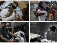 Útoky Izraela na Pásmo Gazy sú ničivé.