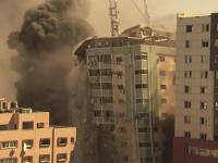Izrael zaútočil na budovu, v ktorej sídlili tlačové agentúry, medzi inými aj americká AP.