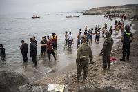 Na územie Ceuty vstúpilo ilegálne v pondelok zhruba 6000 migrantov