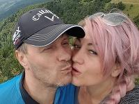 Julo Viršík s manželkou Adrianou.