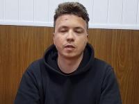 Bieloruský opozičný novinár Raman Pratasevič