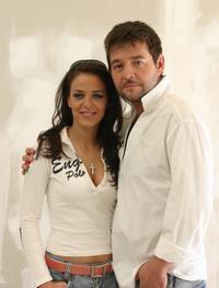 VyVolení moderátori Karin Haydu a Michal Hudák.