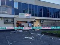Krádež peňazí z bankomatu v Ružinove