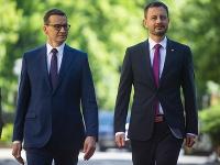 Mateusz Morawiecki a Eduard Heger