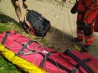 Horskí záchranári pomáhali cyklistovi po páde na Martinských holiach
