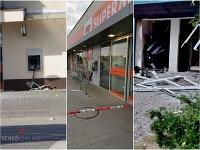 Vo viacerých obciach na Slovensku v noci vybuchli bankomaty.
