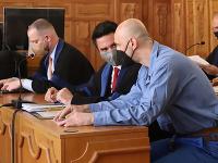 Martin Bihári, ktorý ako jediný prišiel v stredu na súd