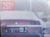 Vodič prekročil rýchlosť o 120 kilometrov za hodinu