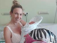 Lucia Forman Habancová porodila dcérku Nelu.