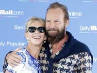 Sting s manželkou Trudie