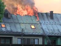 Požiar v Nowa Biala