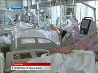 Delta variant plní pacientmi moskovské nemocnice.