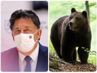 Budaj má spoločnú fotografiu s medveďom!