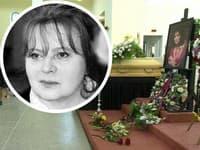 Dnes sa verejnosť a rodina lúči s Libuškou Šafránkovou.