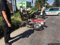 Dopravná nehoda v Nitre