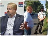 Harabin sa dostal do konfliktu s policajtmi