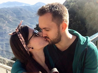 Viktor Serebryakou s partnerkou Michaelou Kickovou