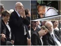 Jan Nedvěd pohreb svojho brata znášal veľmi ťažko.