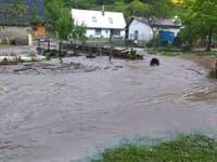 S povodňami bojuje aj obec Valaská Belá.