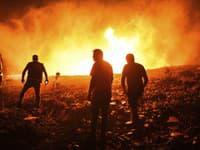 Lesné požiare v Turecku